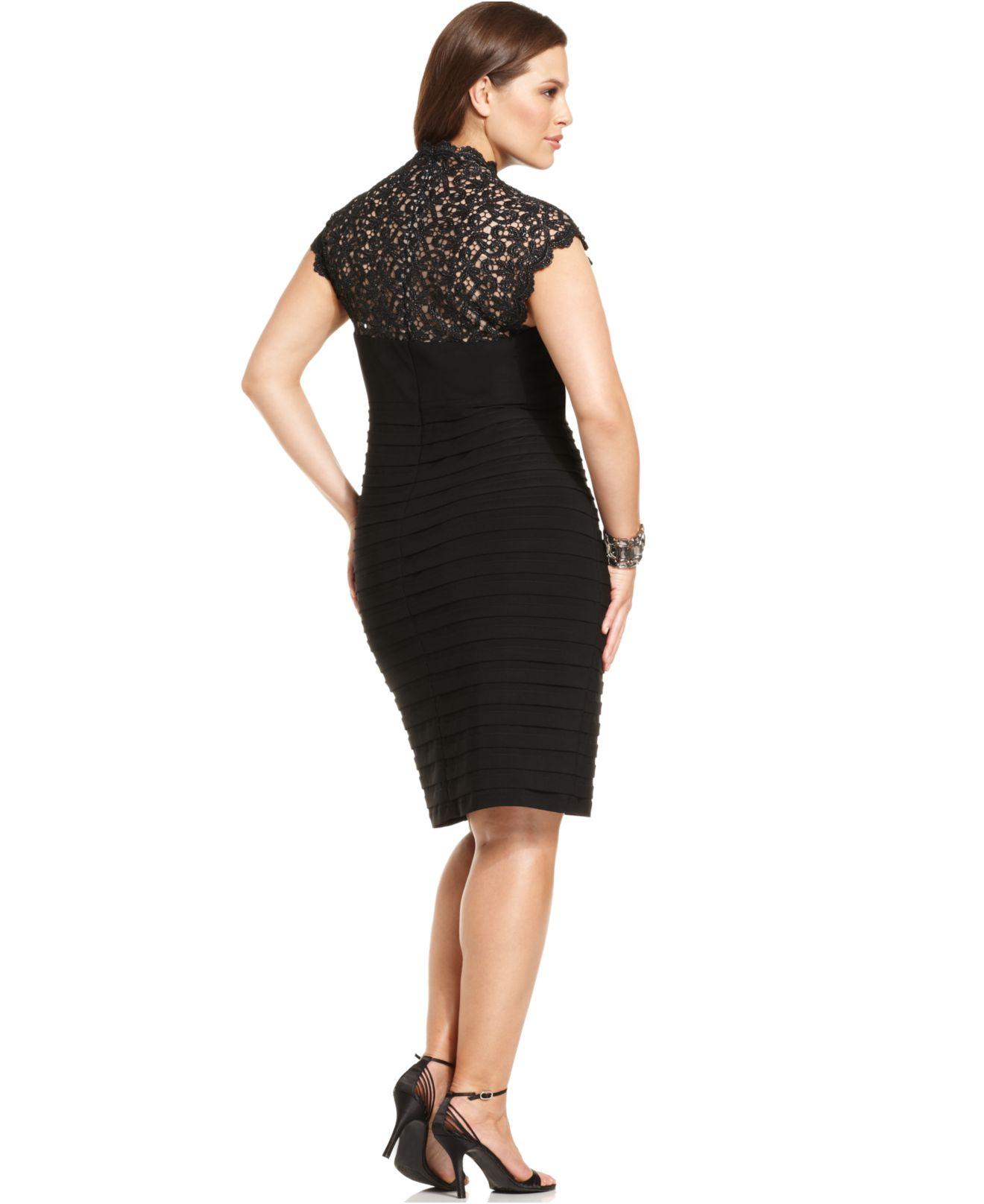 Xscape Dresses Plus Size Popover
