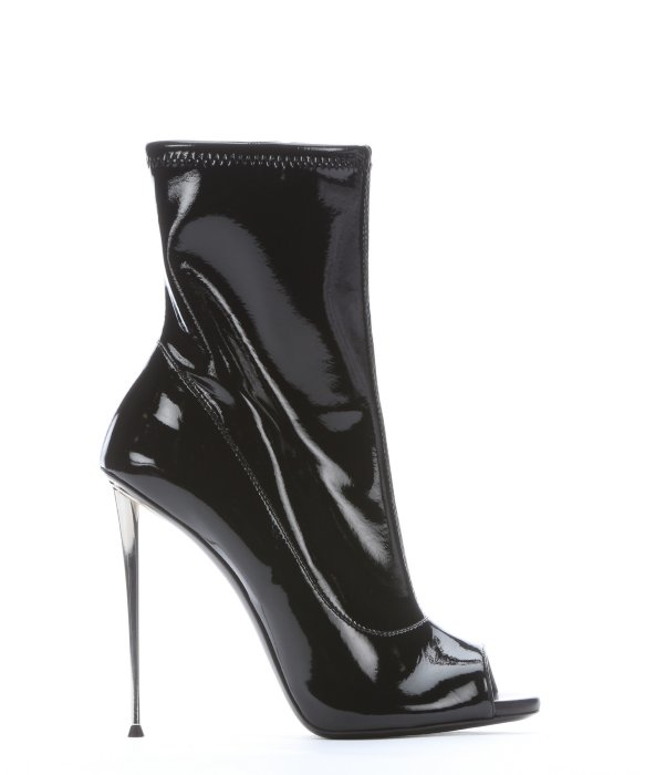 Giuseppe Zanotti Patent Leather Zip Booties outlet pre order 100% original sale online 2015 new cheap online eSeu9oAST
