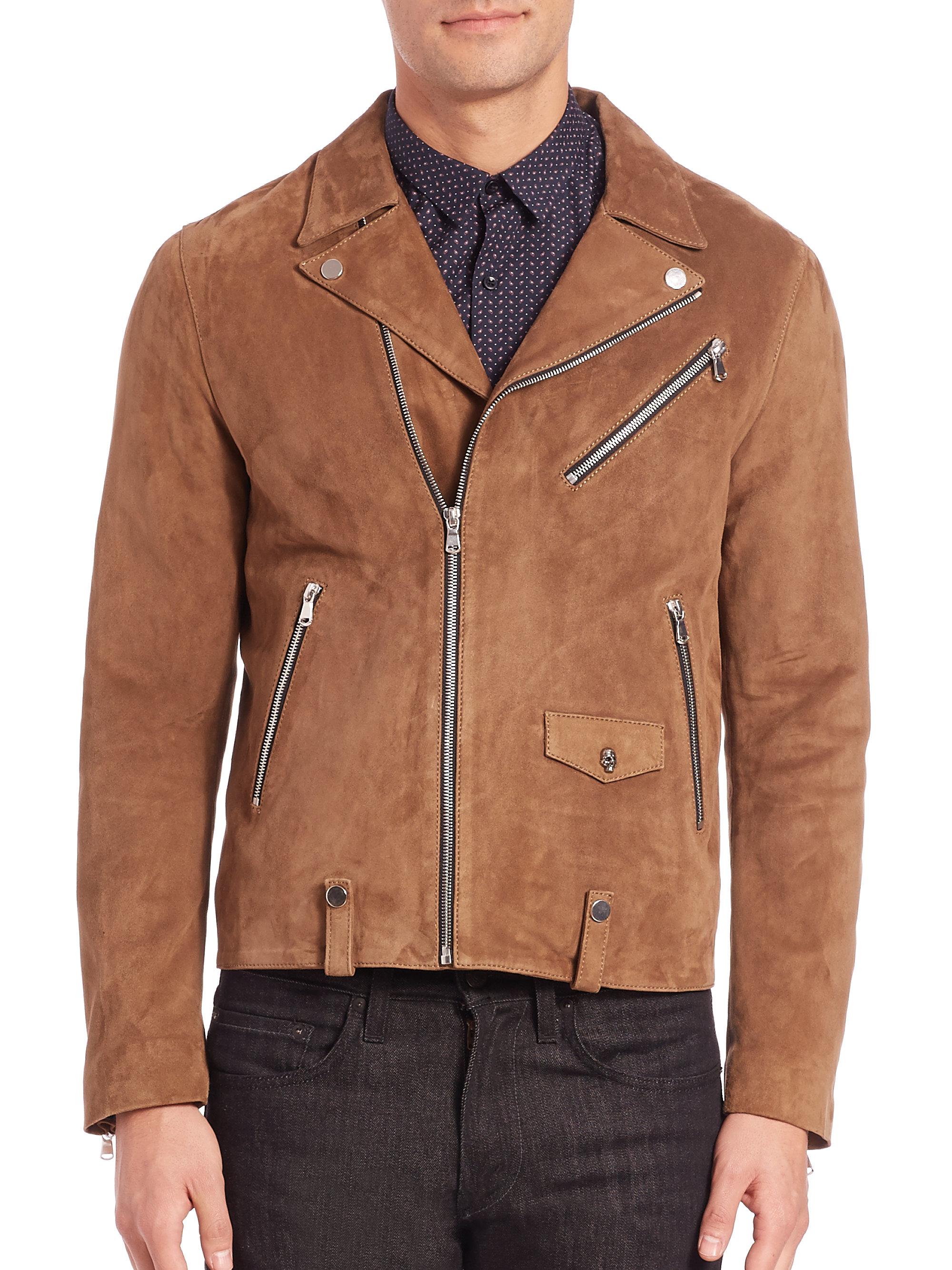 Vince Leather Moto Jacket