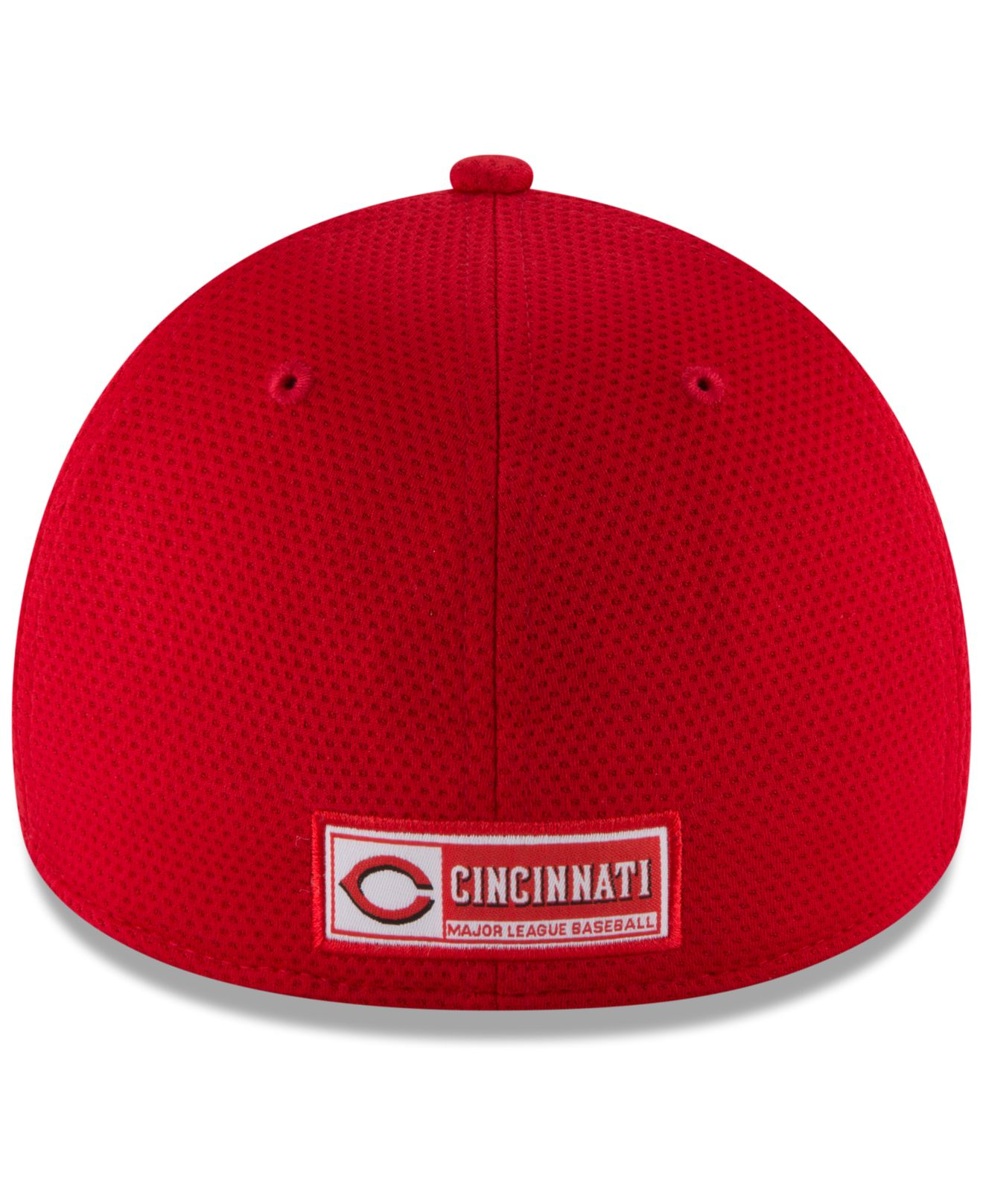 82e0faf3e2446f ... where to buy lyst ktz cincinnati reds reflectaline 39thirty cap in red  cef69 2248d