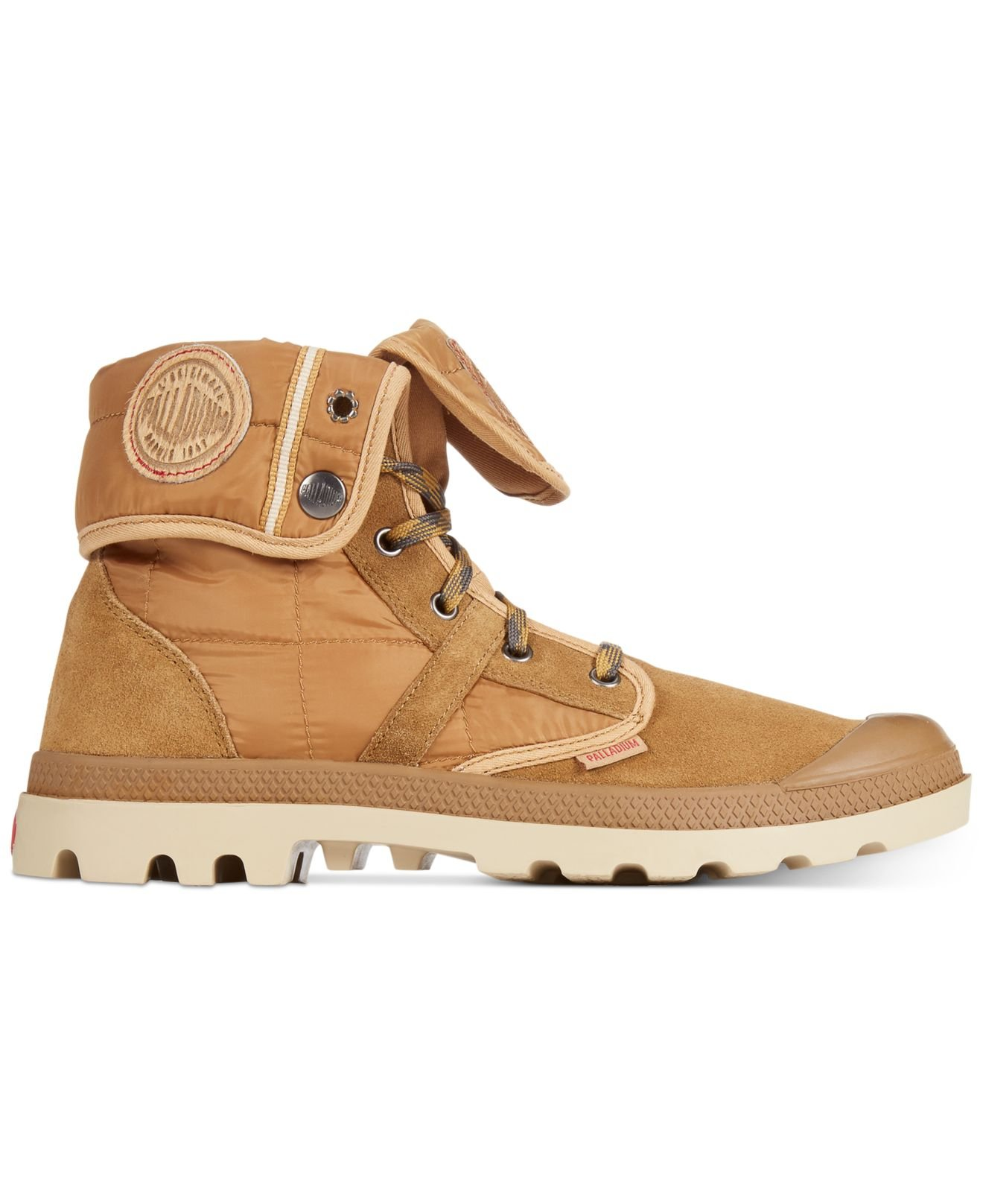 Lyst Palladium Pallabrouse Baggy Ex Boots In Natural For Men