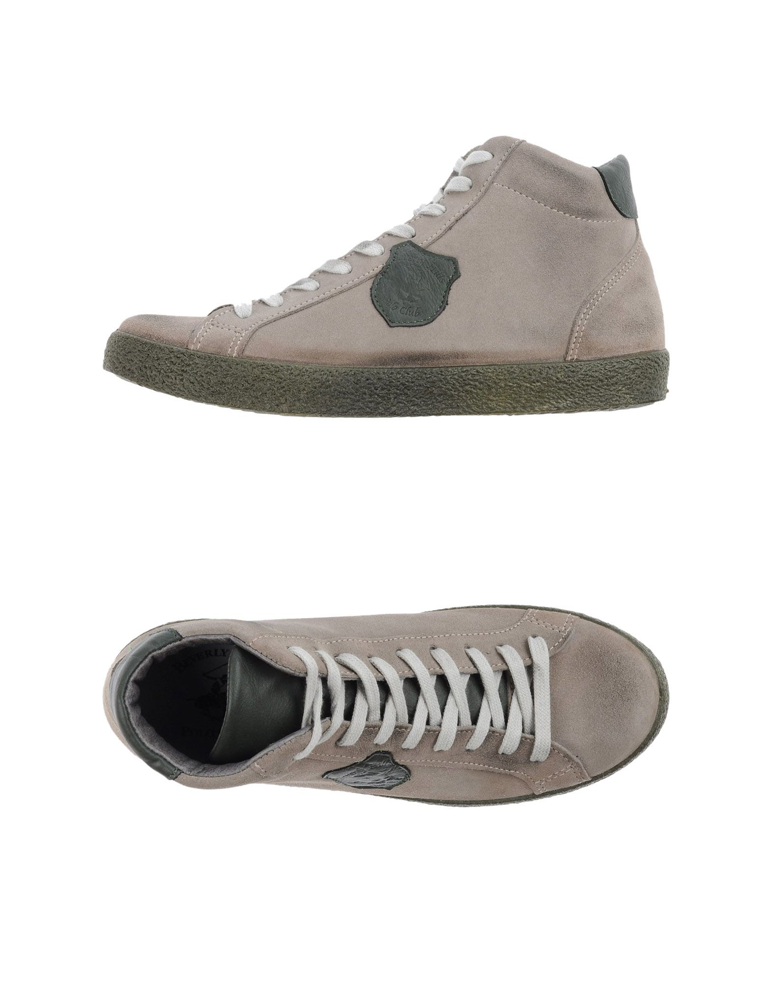 Gray High Top Polo Shoes