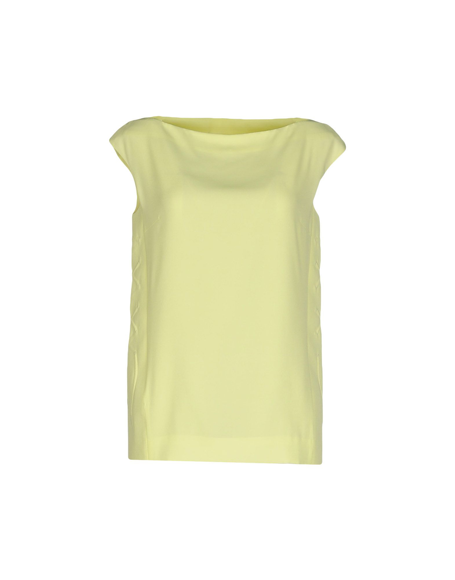 Maison margiela top in yellow lyst for A la maison lotion
