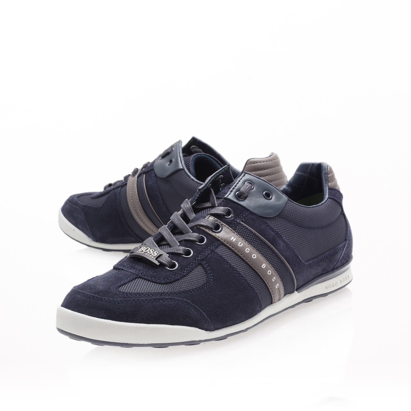 boss akeen lo pro sneaker in blue for men navy lyst. Black Bedroom Furniture Sets. Home Design Ideas