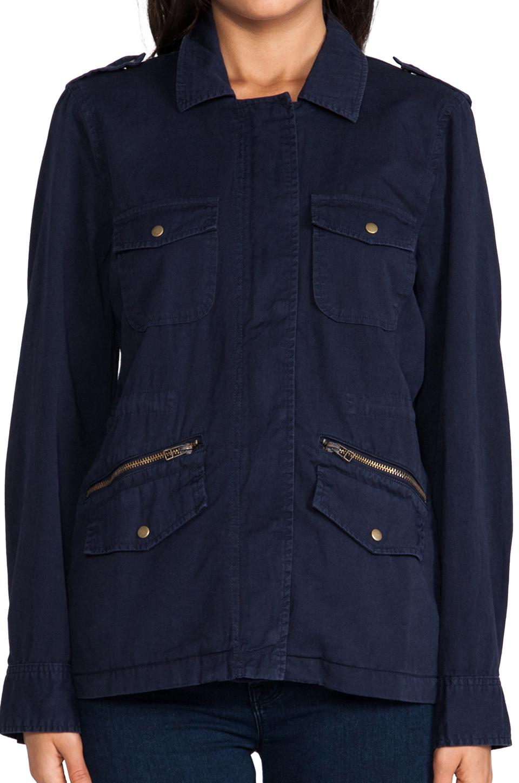 b49cc36686b Lyst - Velvet By Graham   Spencer X Lily Aldridge Ruby Army Jacket ...