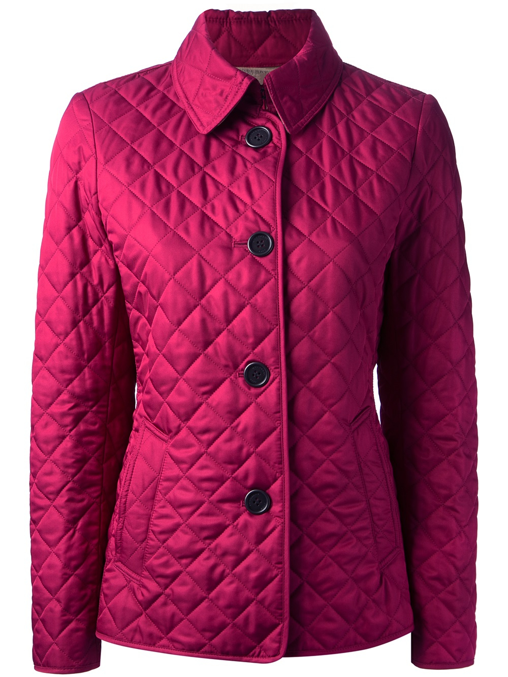 Lyst Burberry Brit Quilted Jacket In Pink