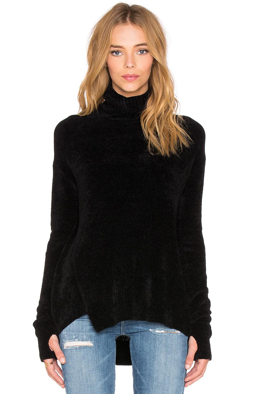 Black Turtleneck Sweater Dress