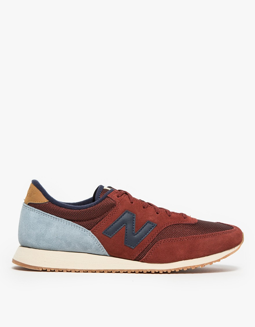 new balance red 620 trainers