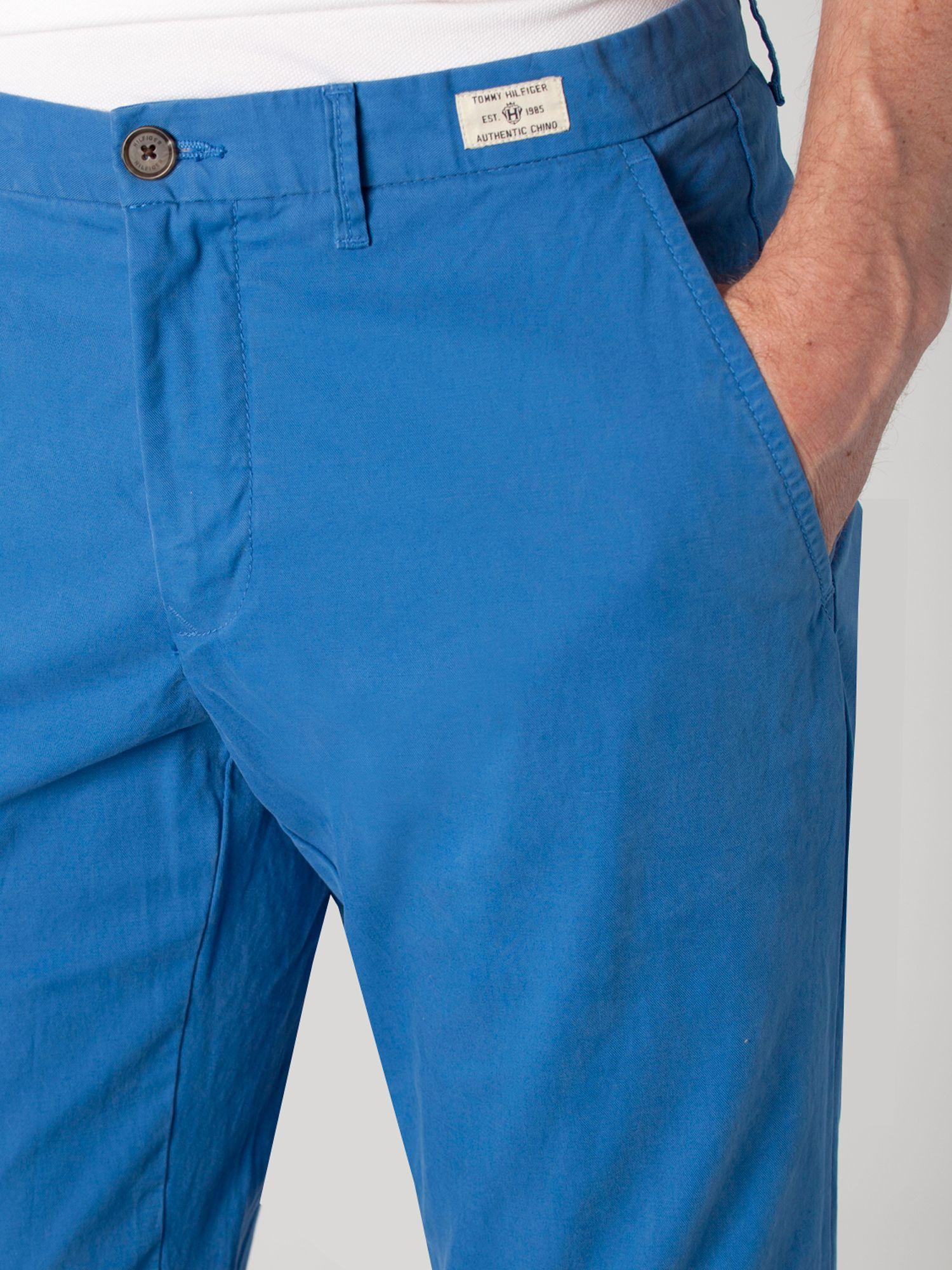 tommy hilfiger mercer chino boston twill in blue for men. Black Bedroom Furniture Sets. Home Design Ideas