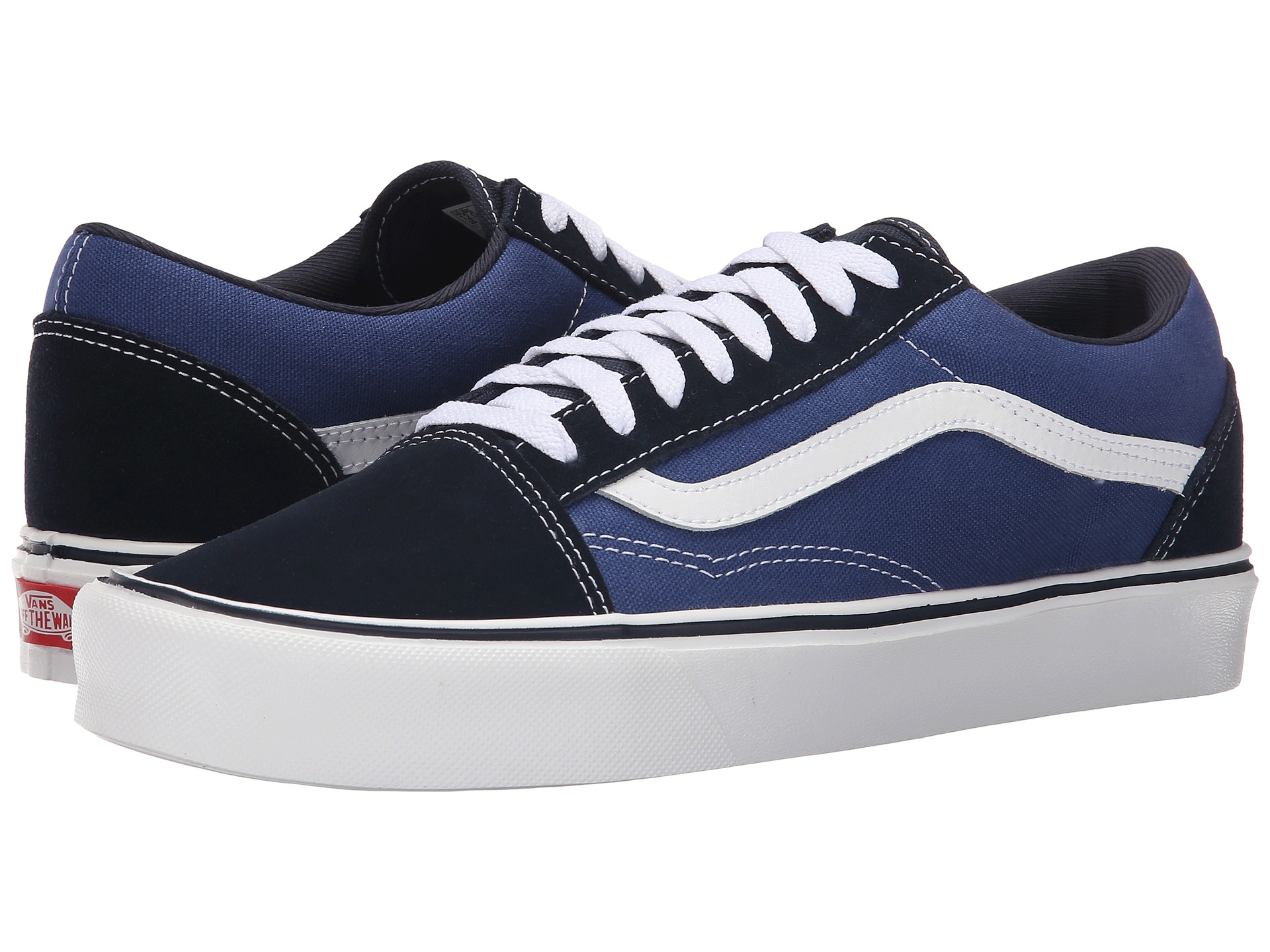 vans old skool lite in blue for men lyst. Black Bedroom Furniture Sets. Home Design Ideas