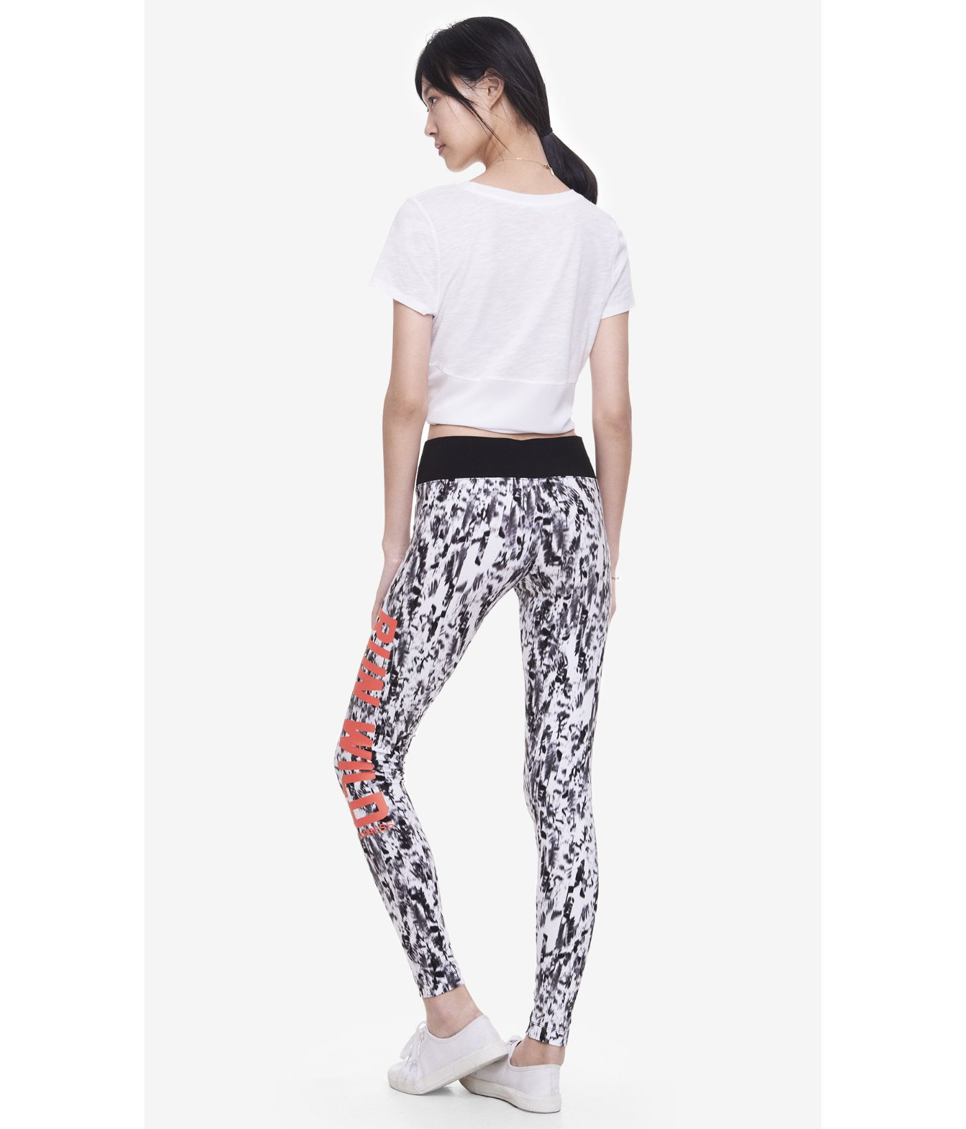 Express Graphic Yoga Legging