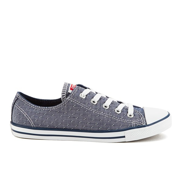 08bcc85895323f Converse Women S Chuck Taylor All Star Dainty Chambray Canvas ...