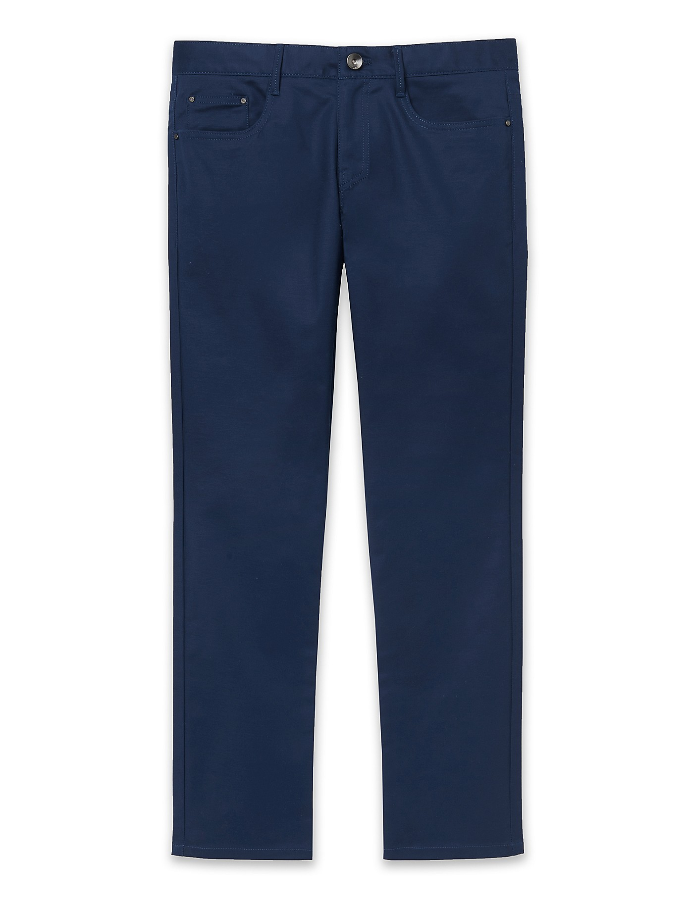 Lyst calvin klein x fit ultra slim fit stretch pants in blue for Calvin klein slim fit stretch shirt