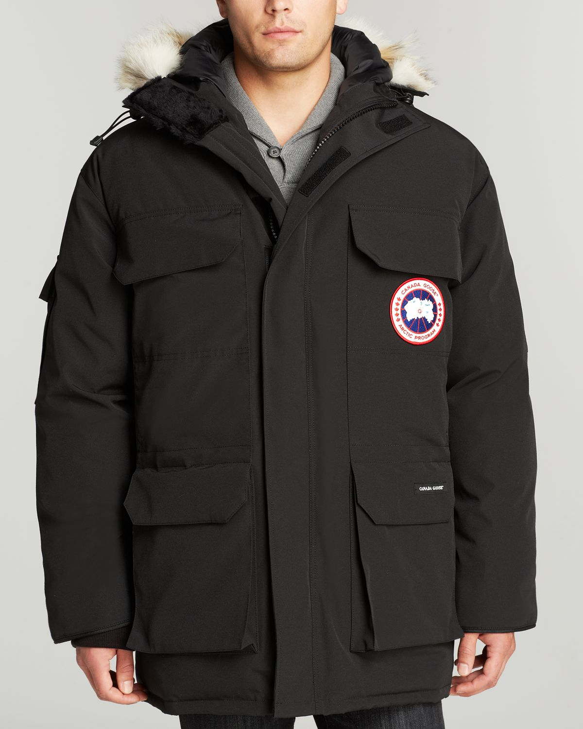 Canada Goose Expedition Parka Fusion Fit In Black For Men