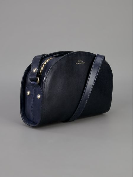 a p c 39 half moon 39 bag in black lyst. Black Bedroom Furniture Sets. Home Design Ideas