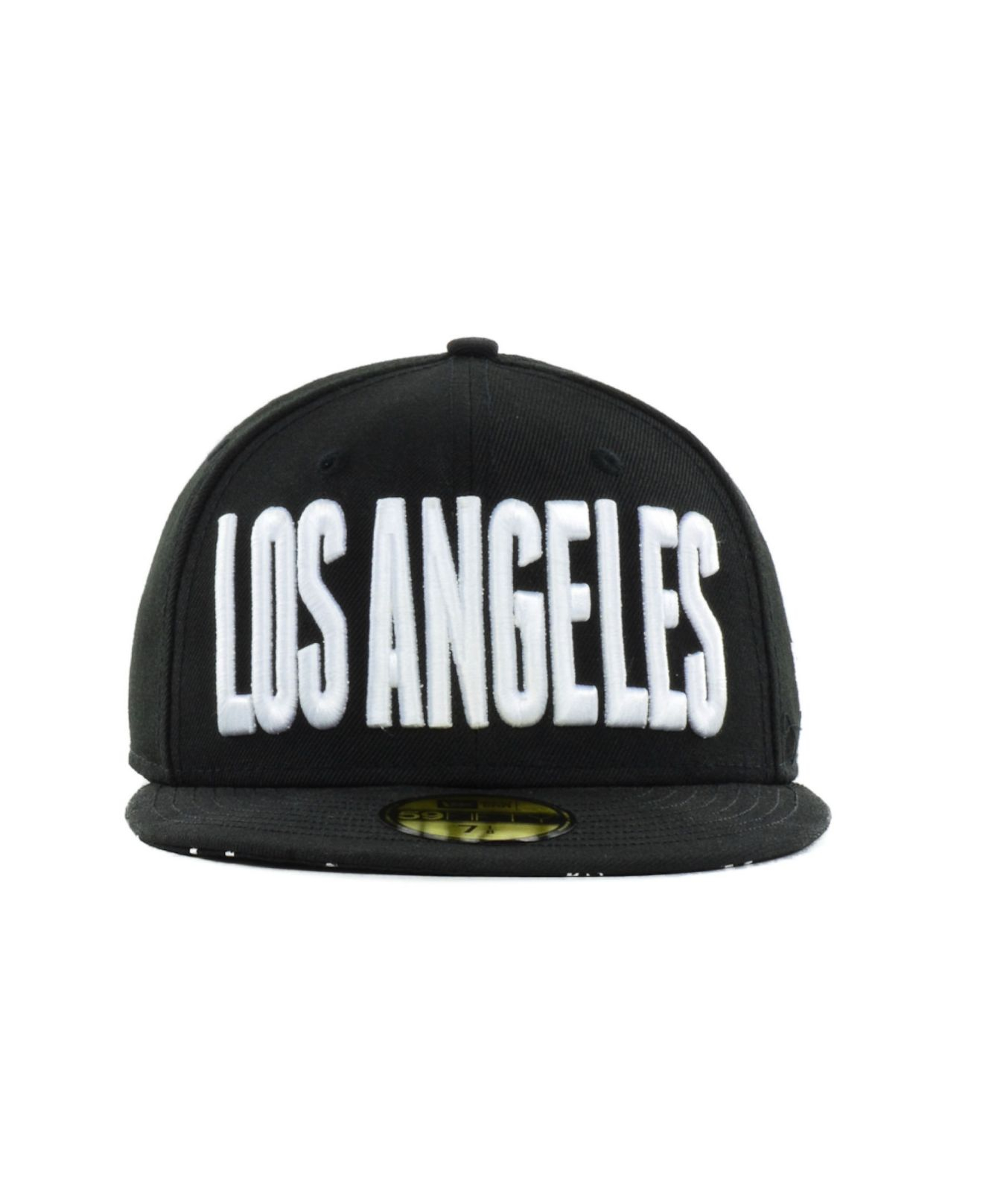 quality design 70b9c 10fe1 ... ireland lyst ktz los angeles dodgers big gps 59fifty cap in black for  men fd24a d78b9