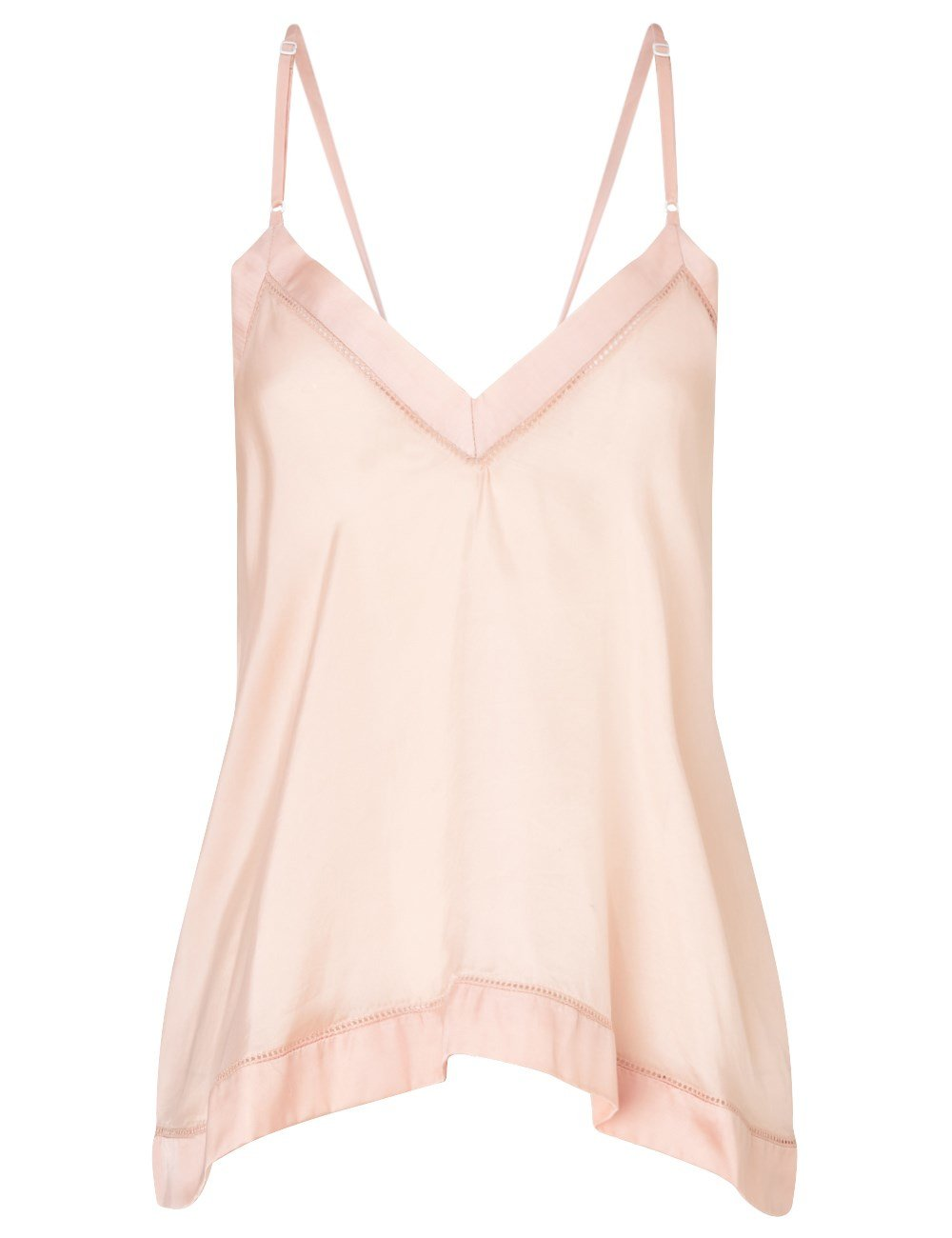 Shop pink cami at Neiman Marcus, where you will find free shipping on the latest in fashion from top designers. Skip To Main Content. Available in Light Pink, White Pattern. More Details Cami NYC The Racer Silk Charmeuse Camisole w/ Lace Details Cami NYC silk charmeuse tank with lace trim. V neckline. Delicate straps.