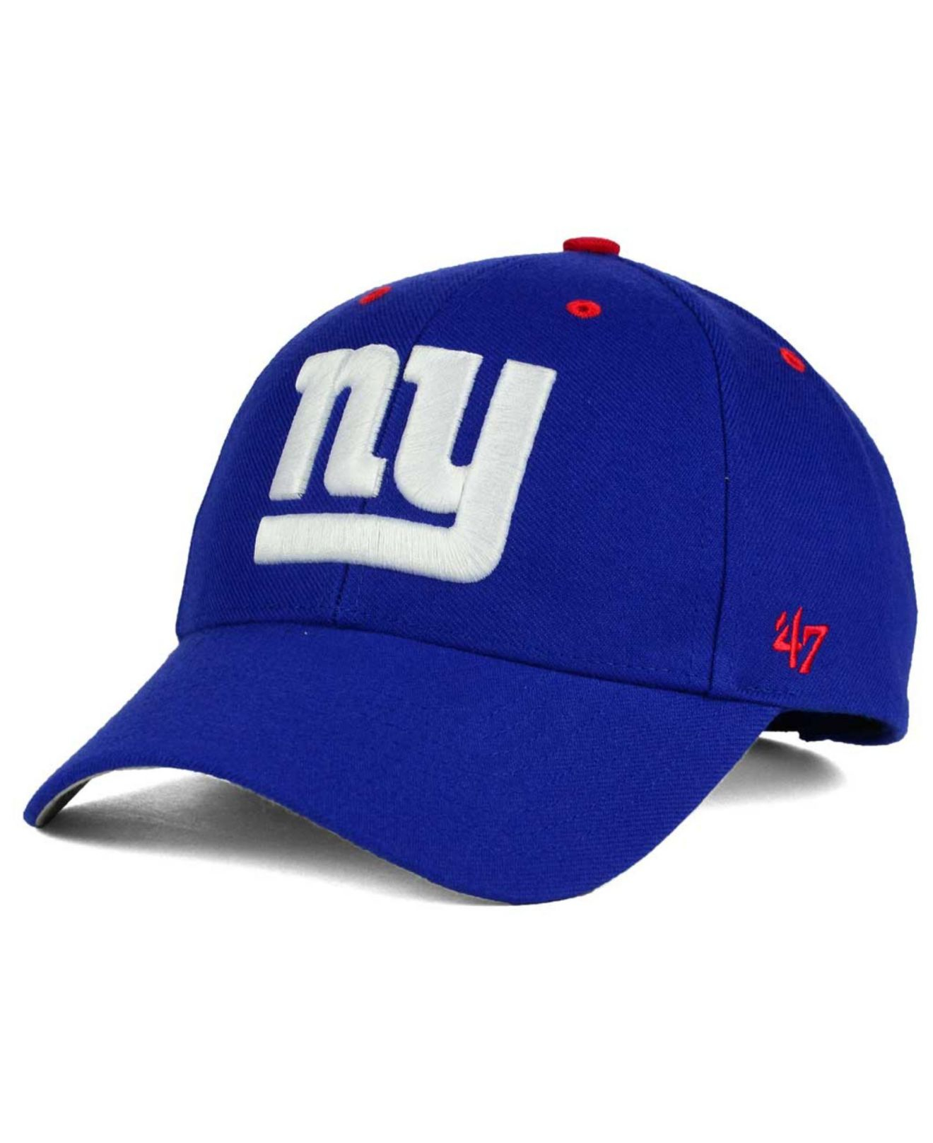 the latest 9494b e0d88 Lyst - 47 Brand New York Giants Audible Mvp Cap in Blue for Men