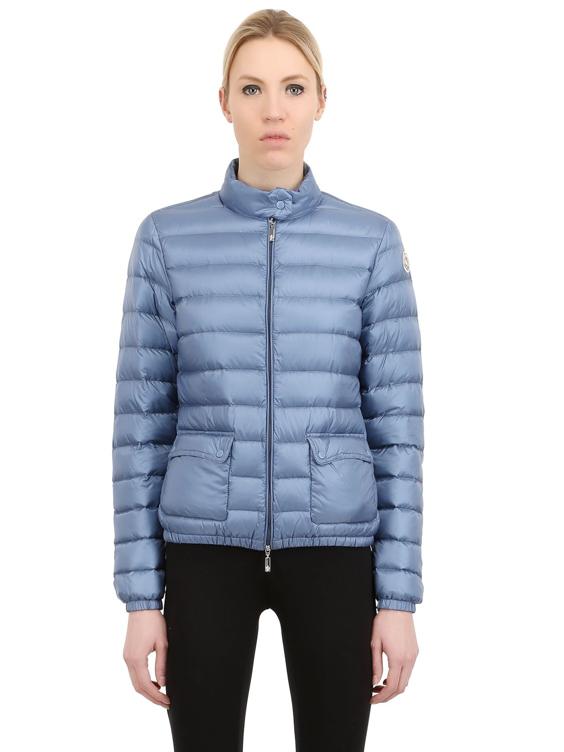 7da5c96931f1 Moncler  lans  Padded Jacket in Blue - Lyst