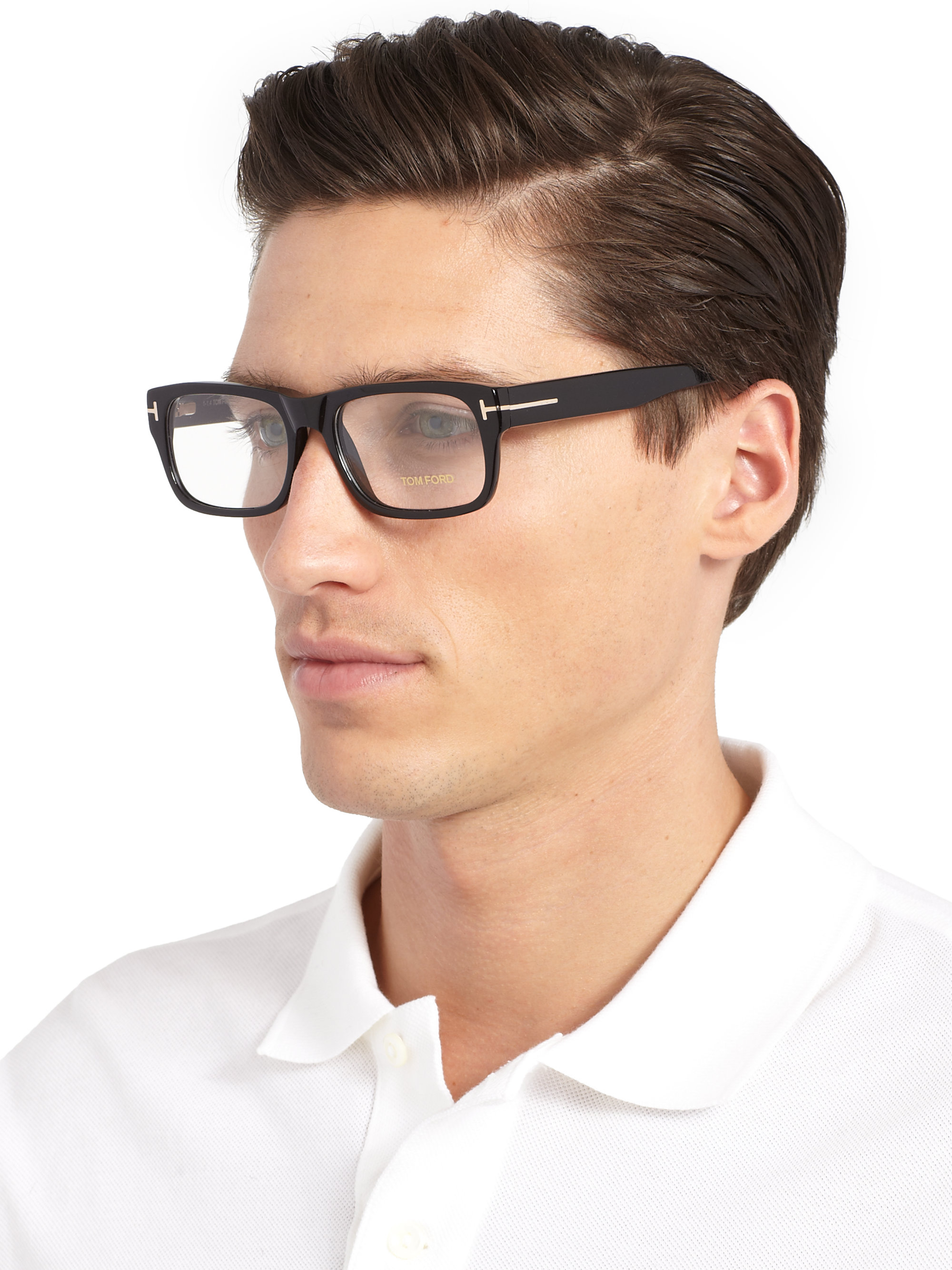 Lyst Tom Ford 5253 Bold Optical Frames In Black For Men