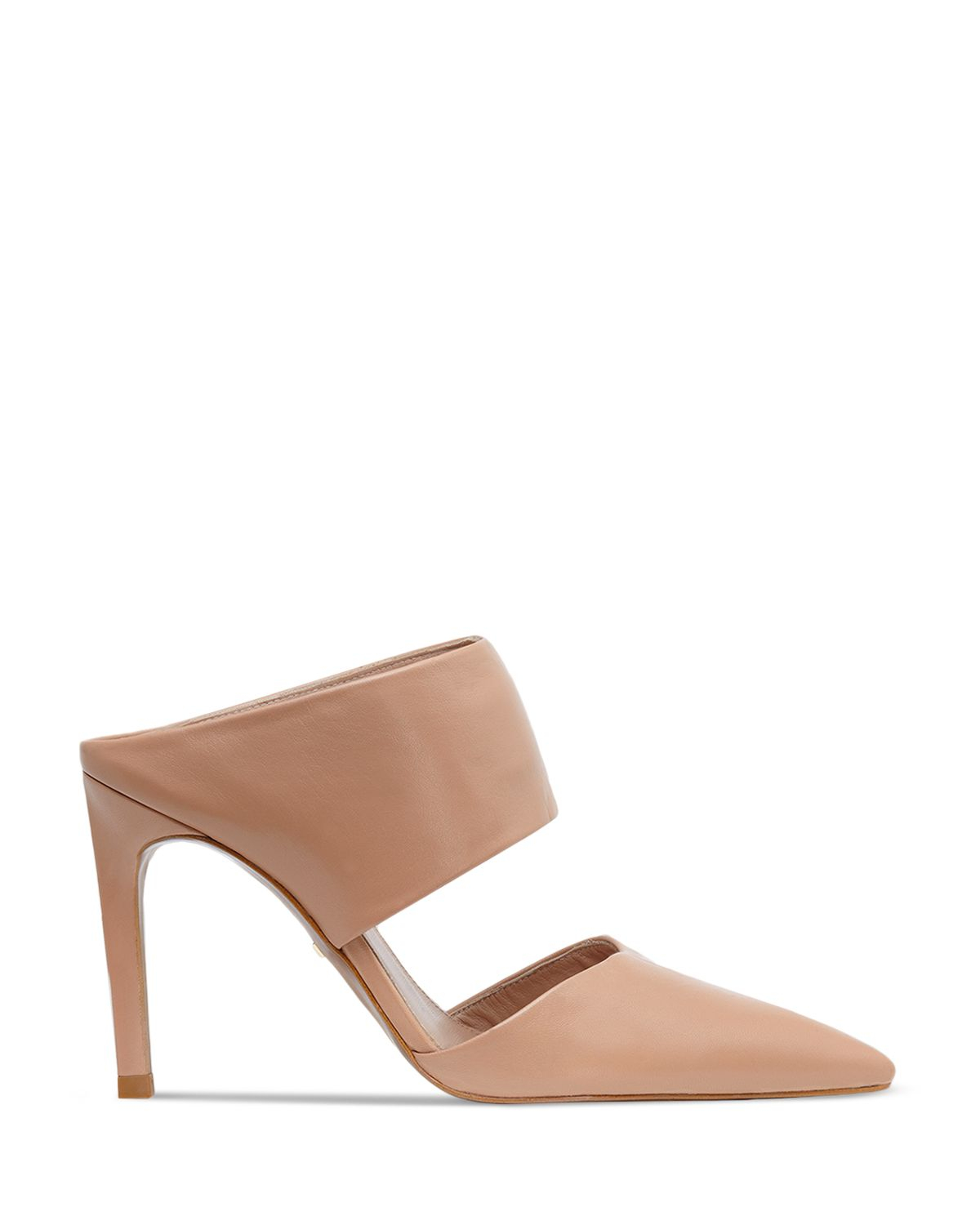 7e3e01bf746 Lyst - Whistles Mule Pumps - Tilla Pointed Toe in Natural