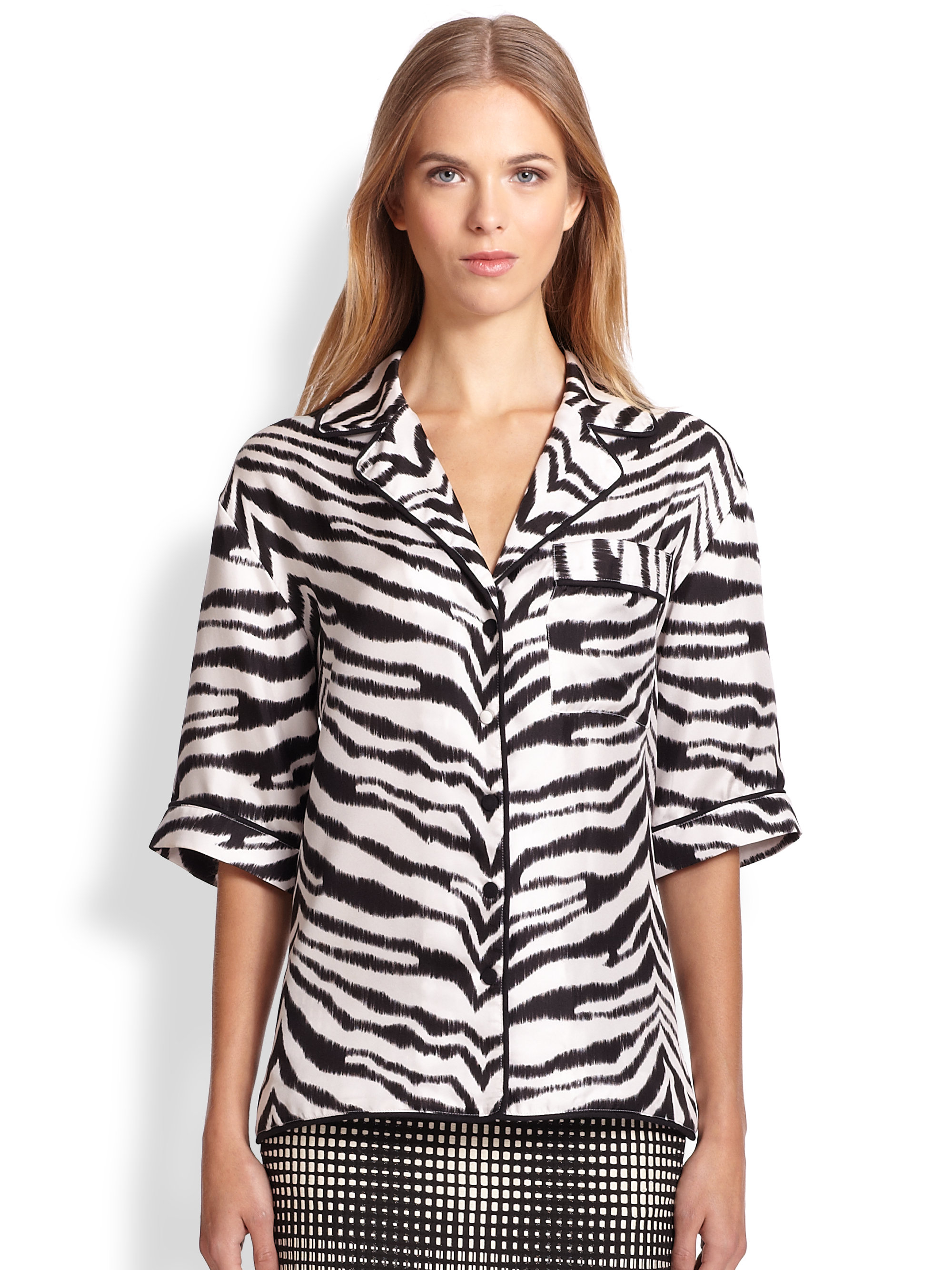 Shop for womens zebra print tops online at Target. Free shipping on purchases over $35 and save 5% every day with your Target REDcard.