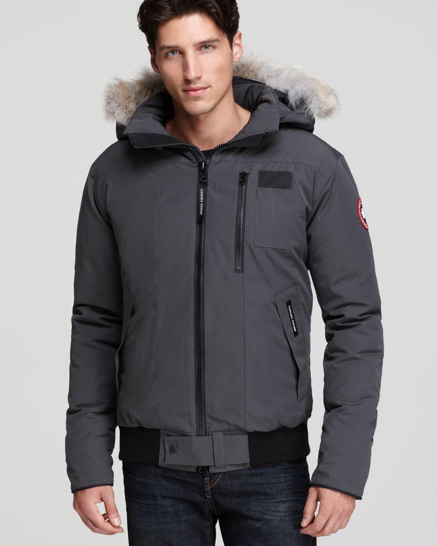 canada goose borden bomber jacket