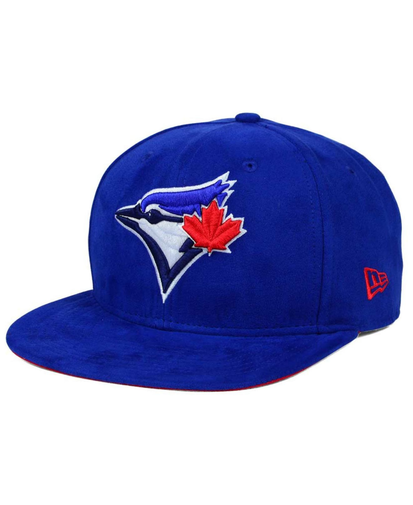 41d52a46202 Lyst - KTZ Toronto Blue Jays Suede Collection 9fifty Strapback Cap ...