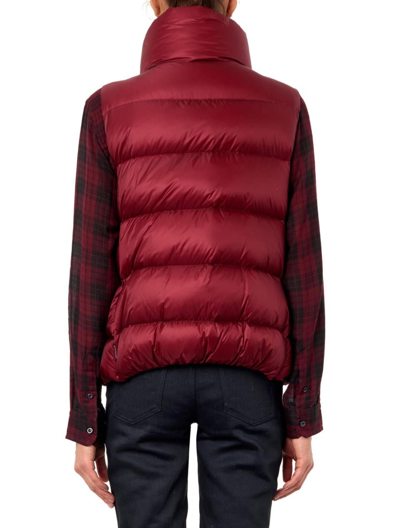 9b7565d36 Lyst - Moncler Sources Quilted Down Gilet in Purple