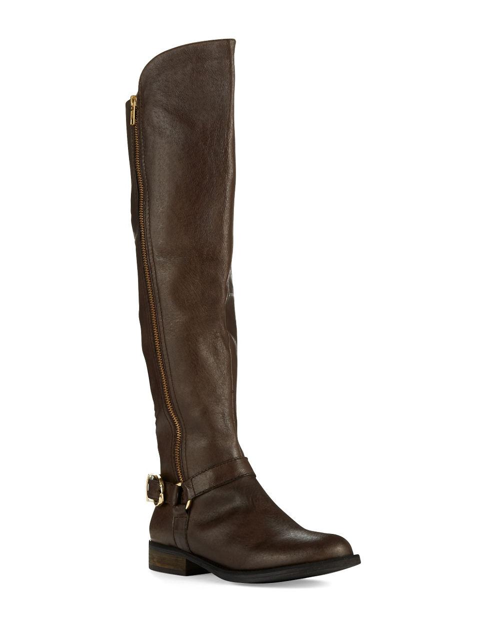 steve madden skippur boots in brown
