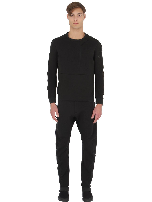 Fleece Ace Neck Crew Logo Sweatshirt Nike xY7Bqwa55