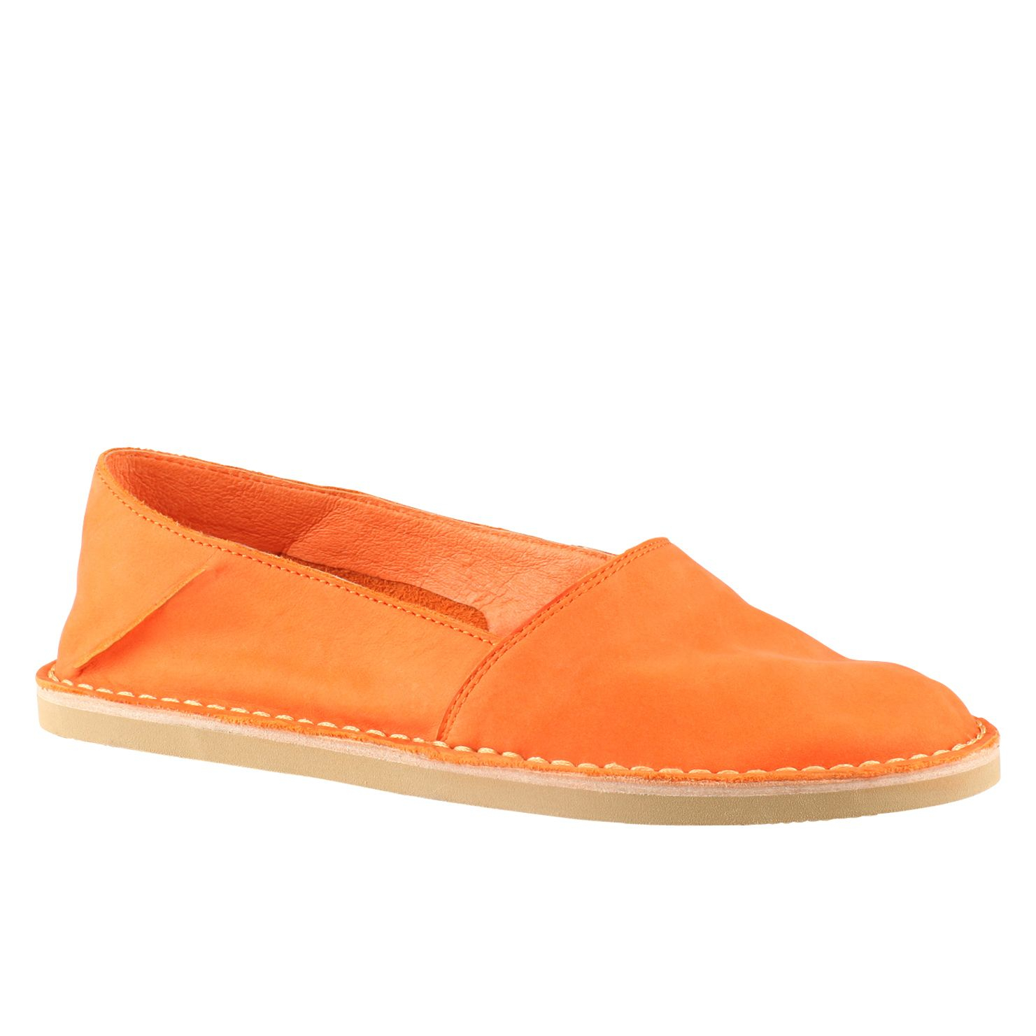 aldo archi slip on espadrille shoes in orange lyst