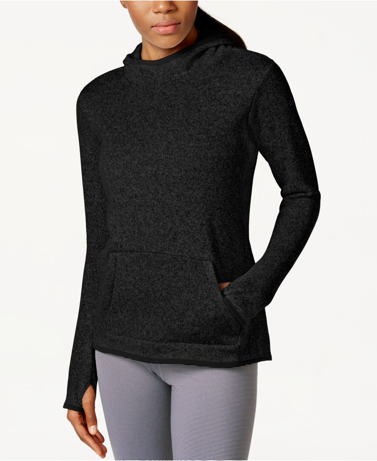 outlet store 005ce feeb7 Nike Hypernatural Therma-fit Hoodie in Black - Lyst