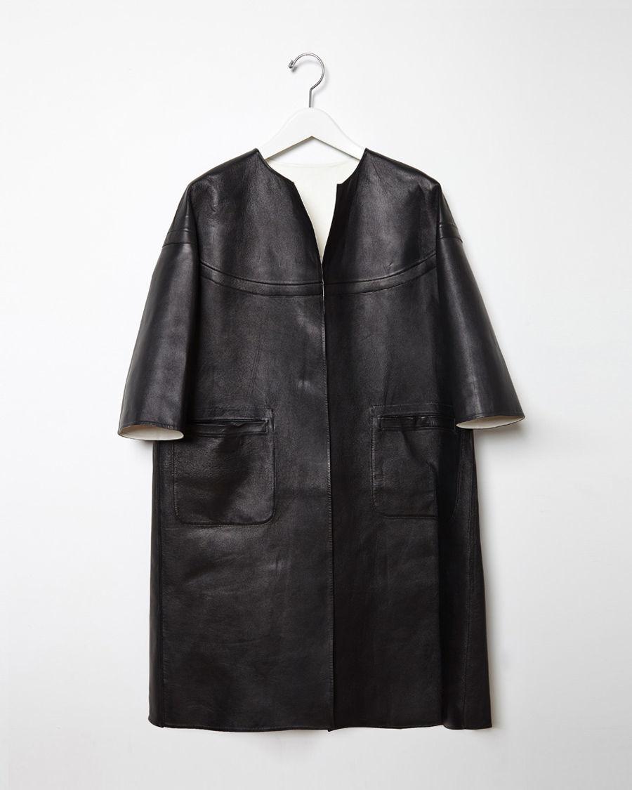 Marni leather jacket