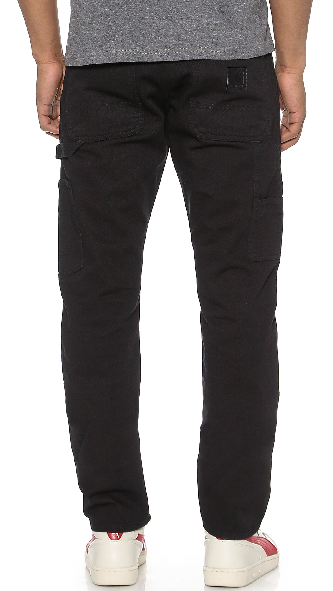 Carhartt Wip Lincoln Double Knee Pants In Black For Men Lyst
