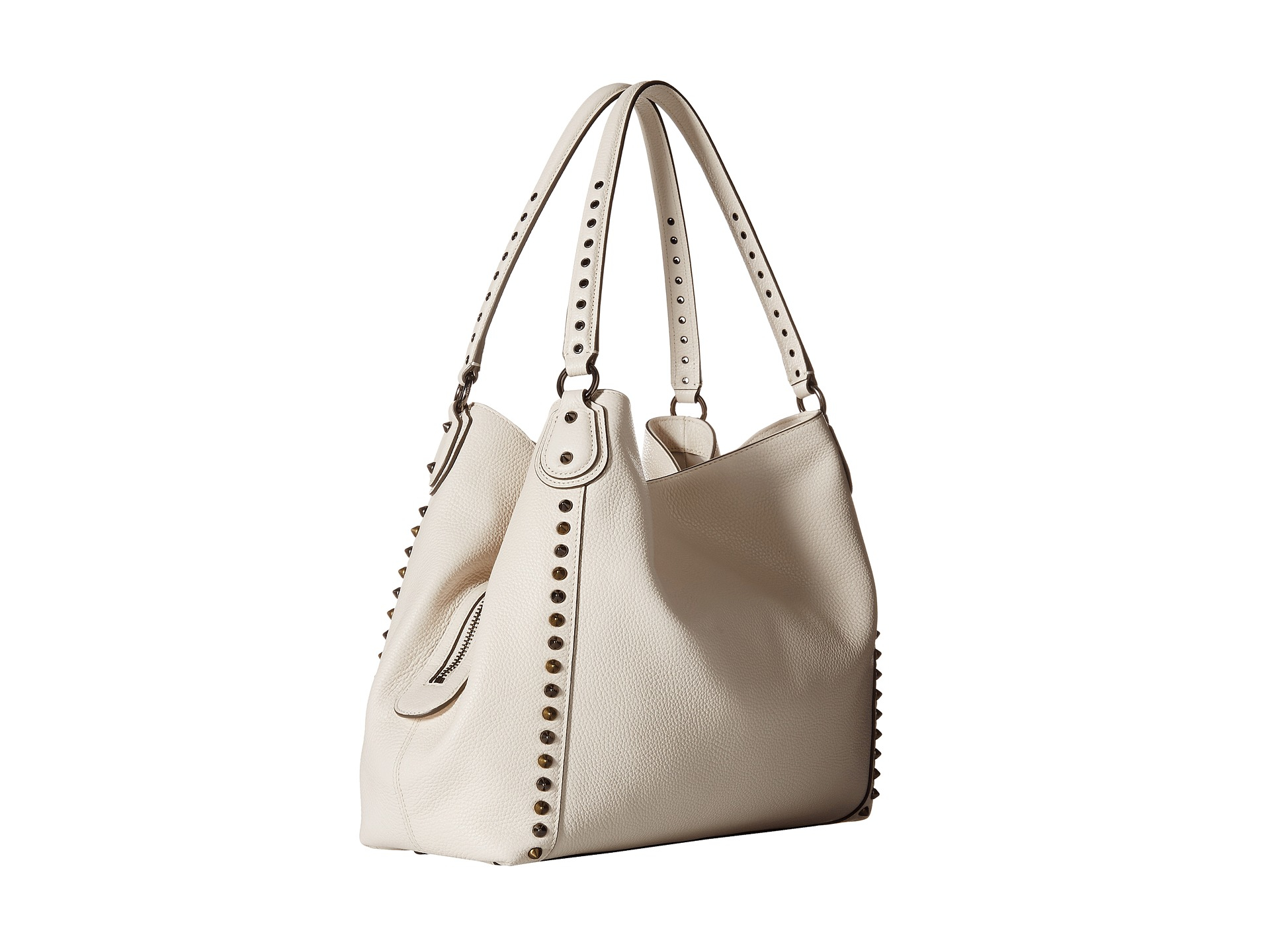 06c1415c41935 COACH Edie 31 Shoulder Bag in White - Lyst