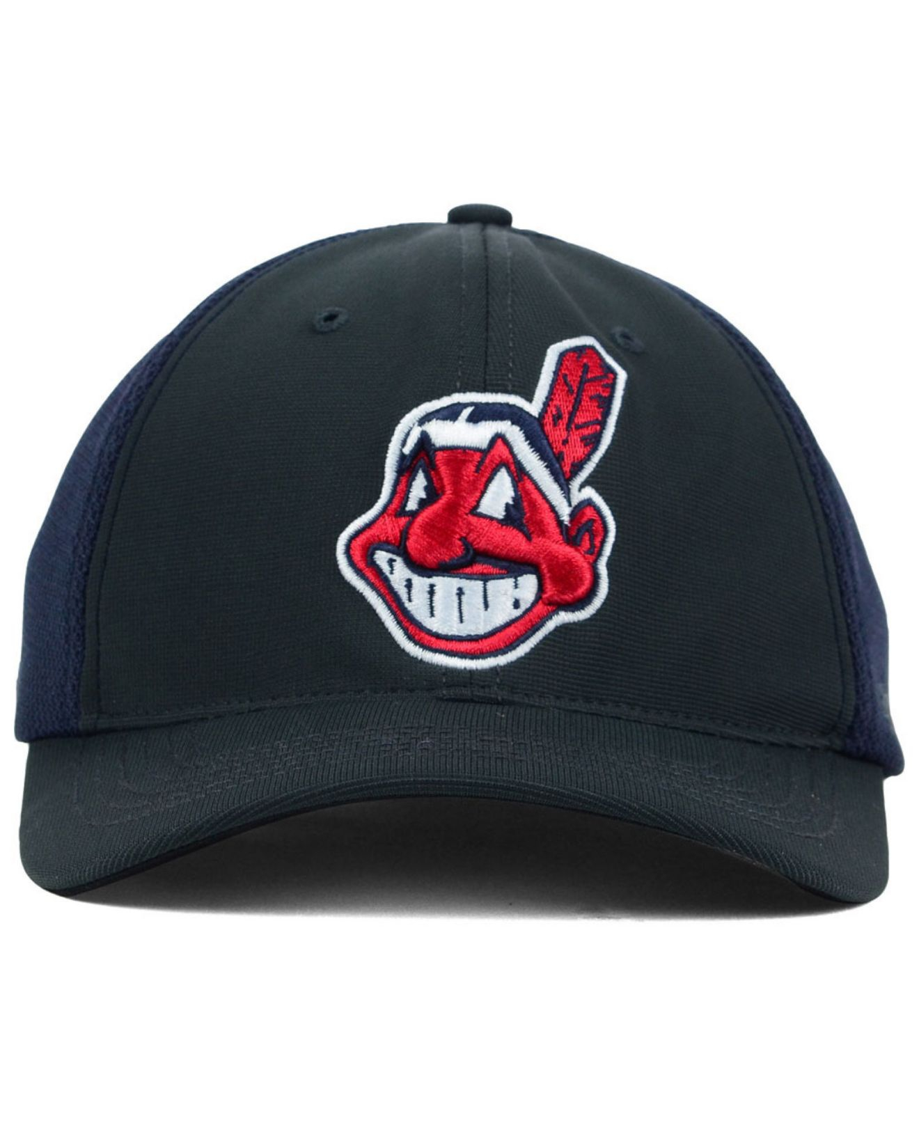 best sneakers 2f027 120c3 ... closeout lyst 47 brand cleveland indians stretch fit cap in gray for men  8fc05 fba11