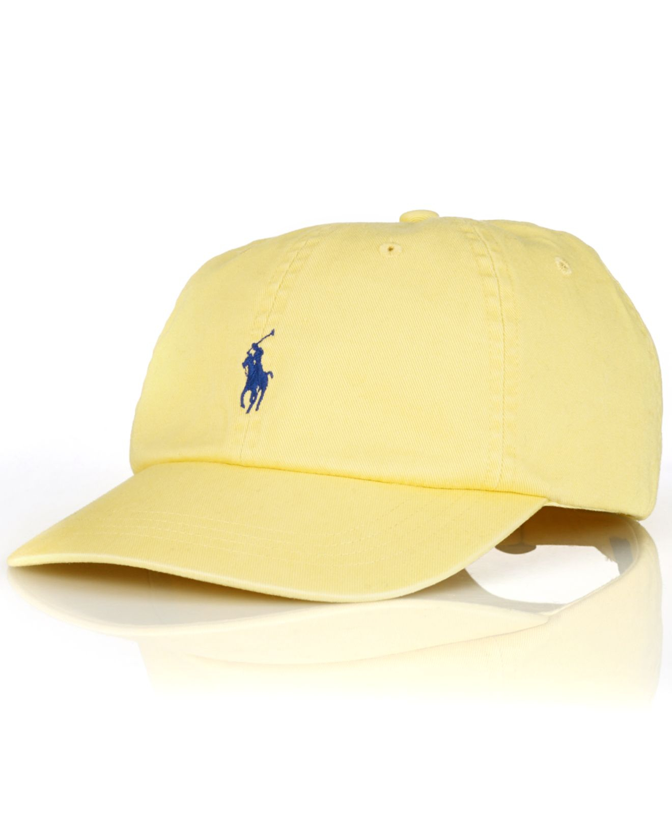 14a791b94d0 Lyst - Polo Ralph Lauren Classic Chino Sports Cap in Yellow for Men