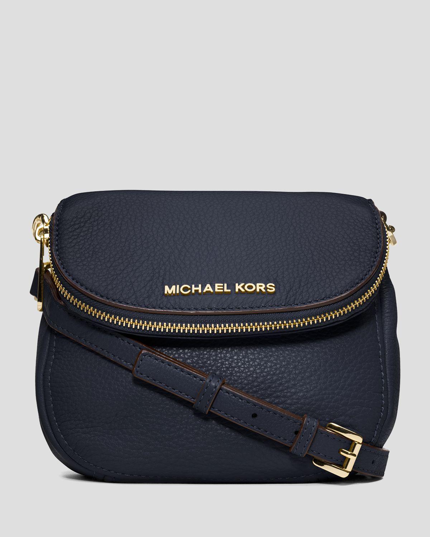 436db777927b MICHAEL Michael Kors Crossbody - Bedford Flap in Blue - Lyst