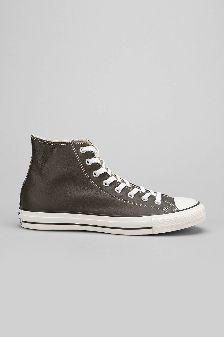 Lyst Converse Chuck Taylor All Star Leather High Top Men