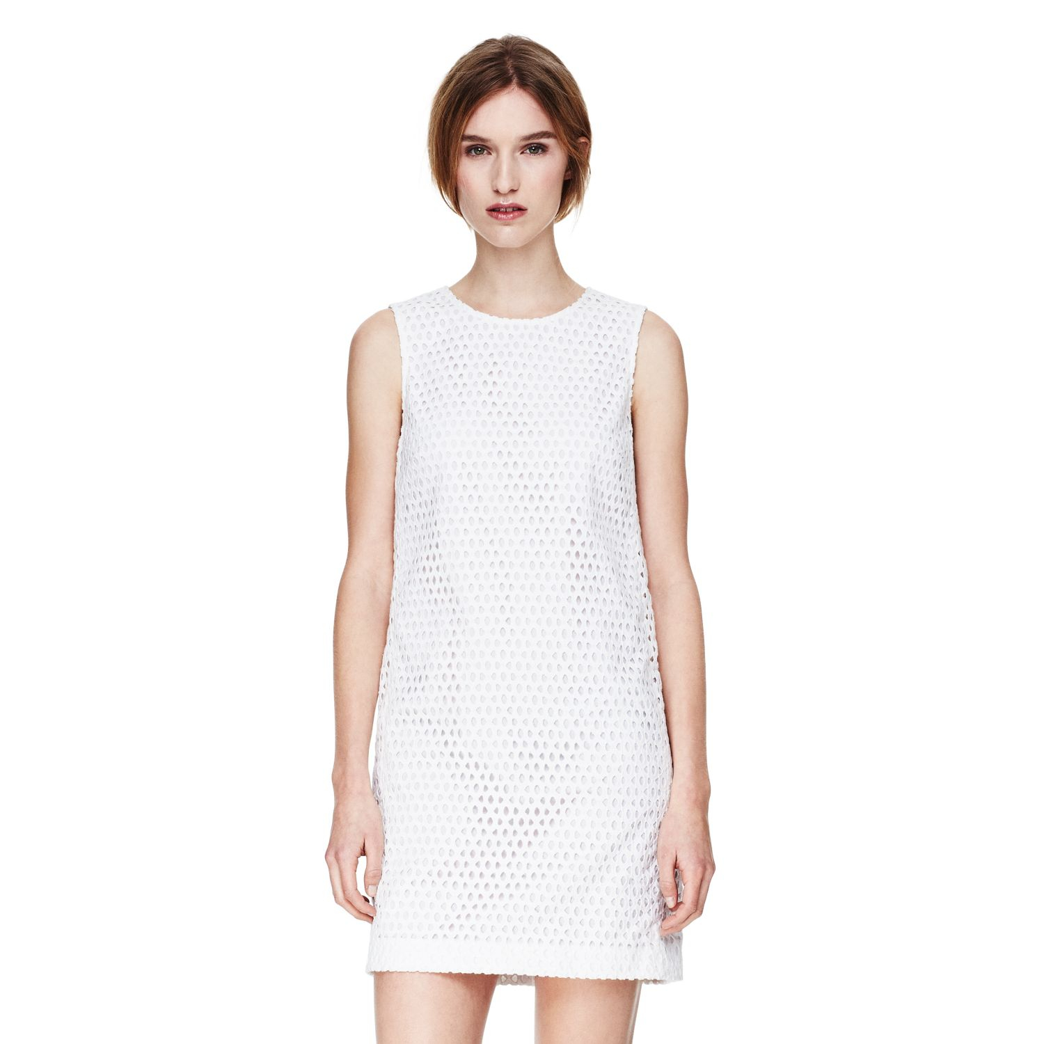 White Shift Dresses