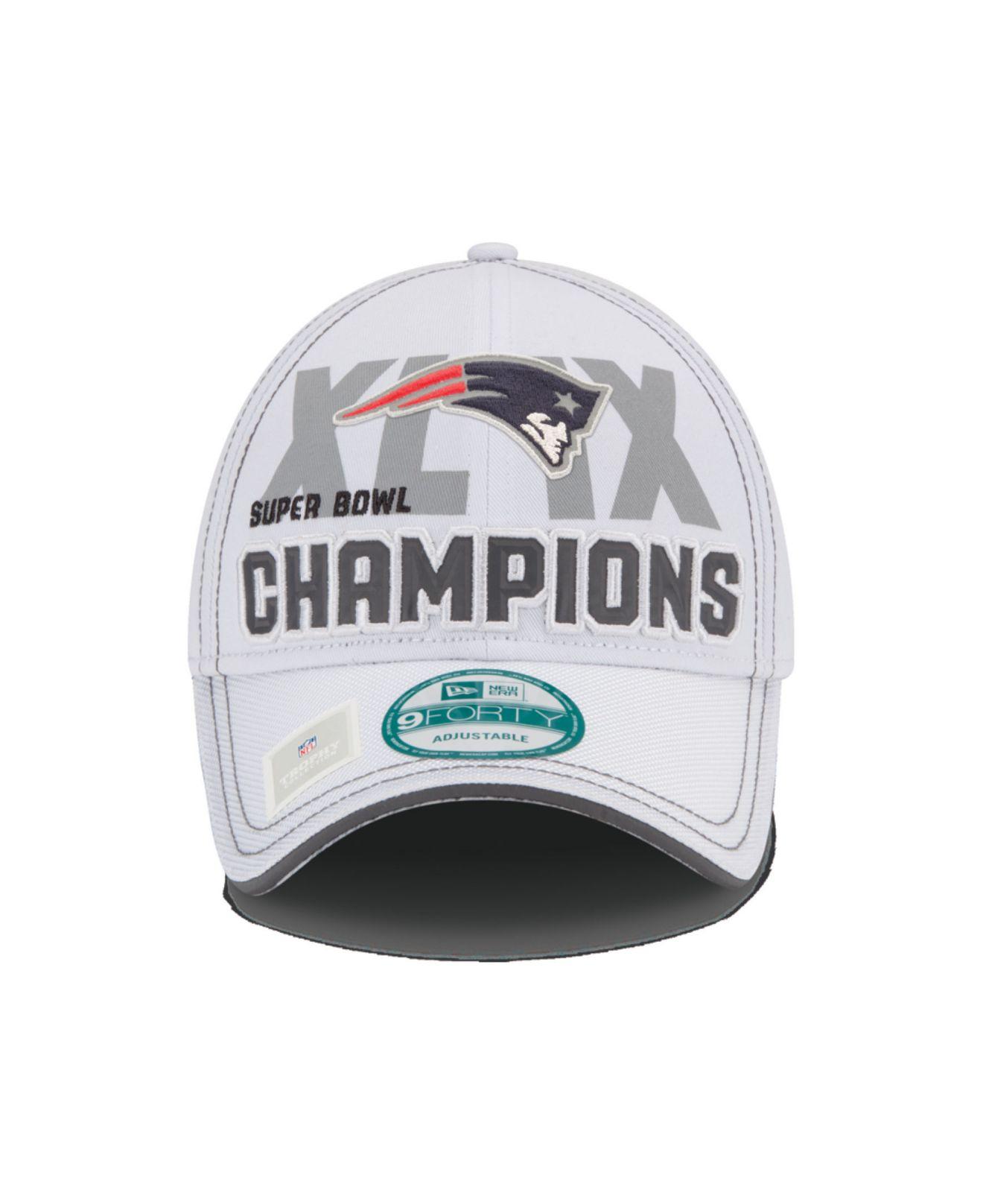 795c00206dd6fc KTZ New England Patriots Super Bowl Xlix Locker Room Champ Cap in ...