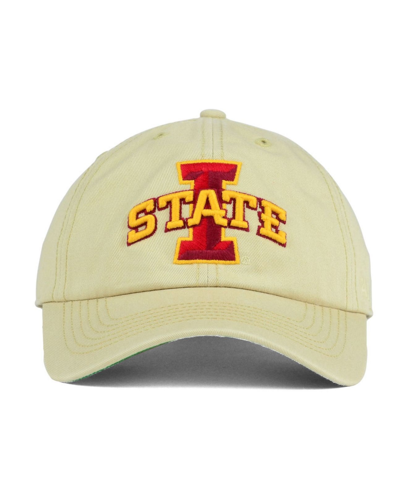 best service 2185d a761a ... usa lyst 47 brand iowa state cyclones franchise cap in natural for men  d085b 0d5f7
