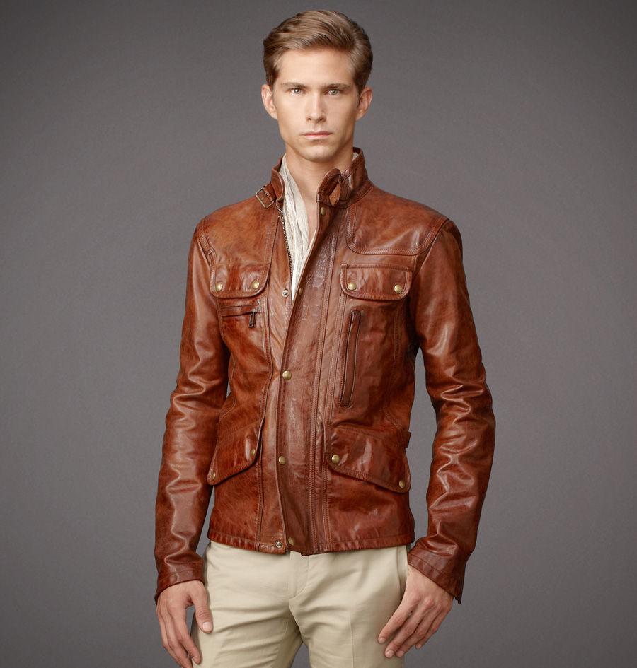 belstaff maple jacket in brown for men lyst. Black Bedroom Furniture Sets. Home Design Ideas
