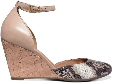 Clarks Womens Artisan Purity High Line Wedges In Animal