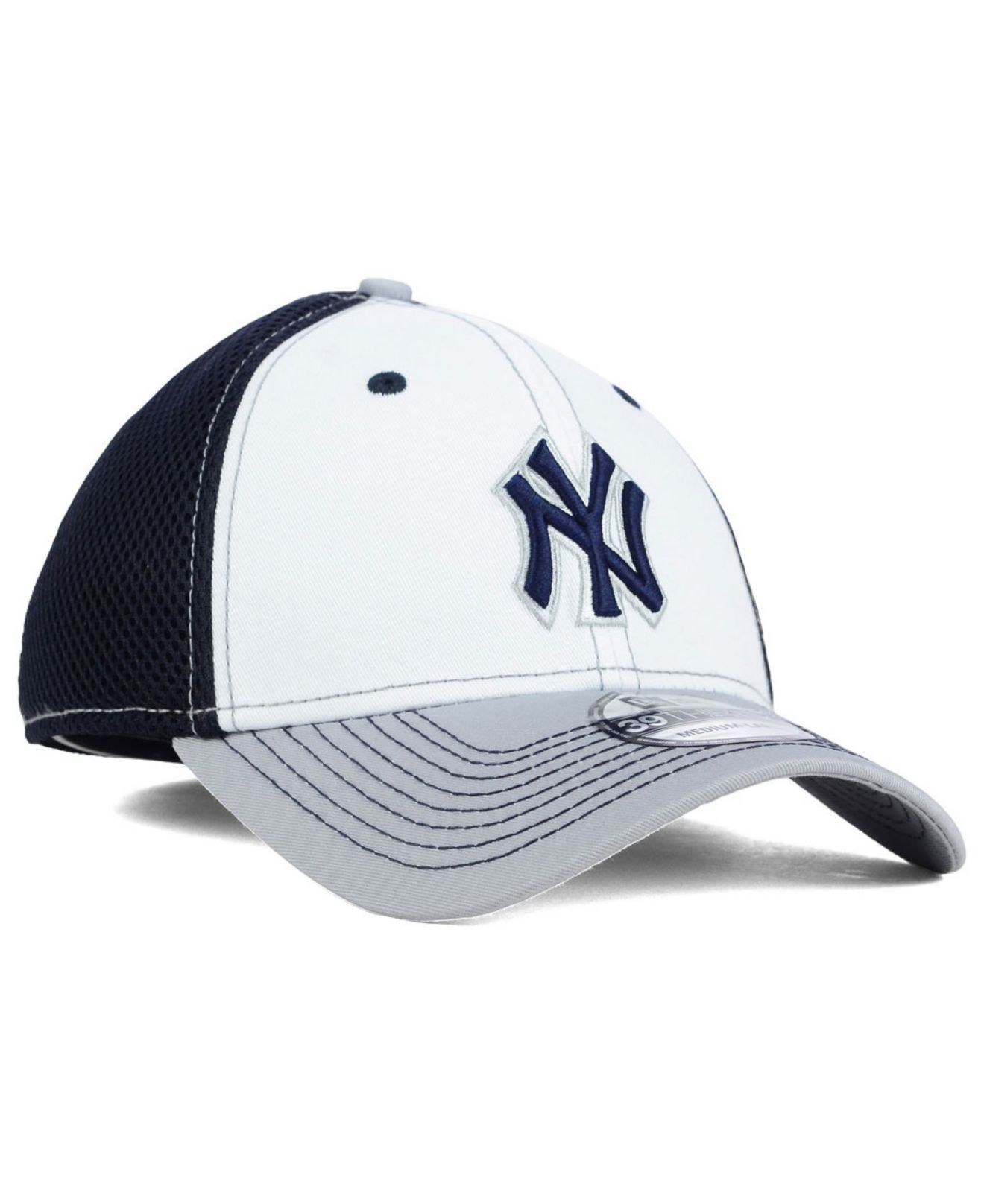 sale retailer 00d00 0f00f ... new style lyst ktz new york yankees neo 39thirty cap in blue for men  82dc1 2c689