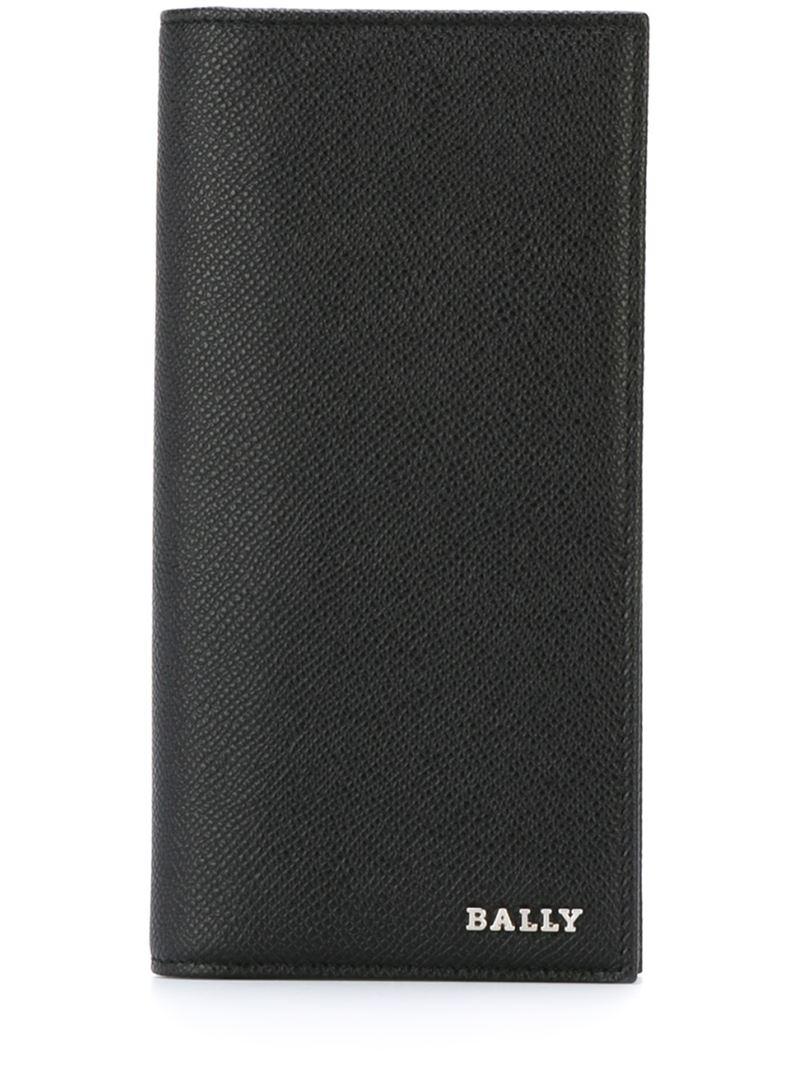 Lyst Bally Long Billfold Wallet In Black For Men