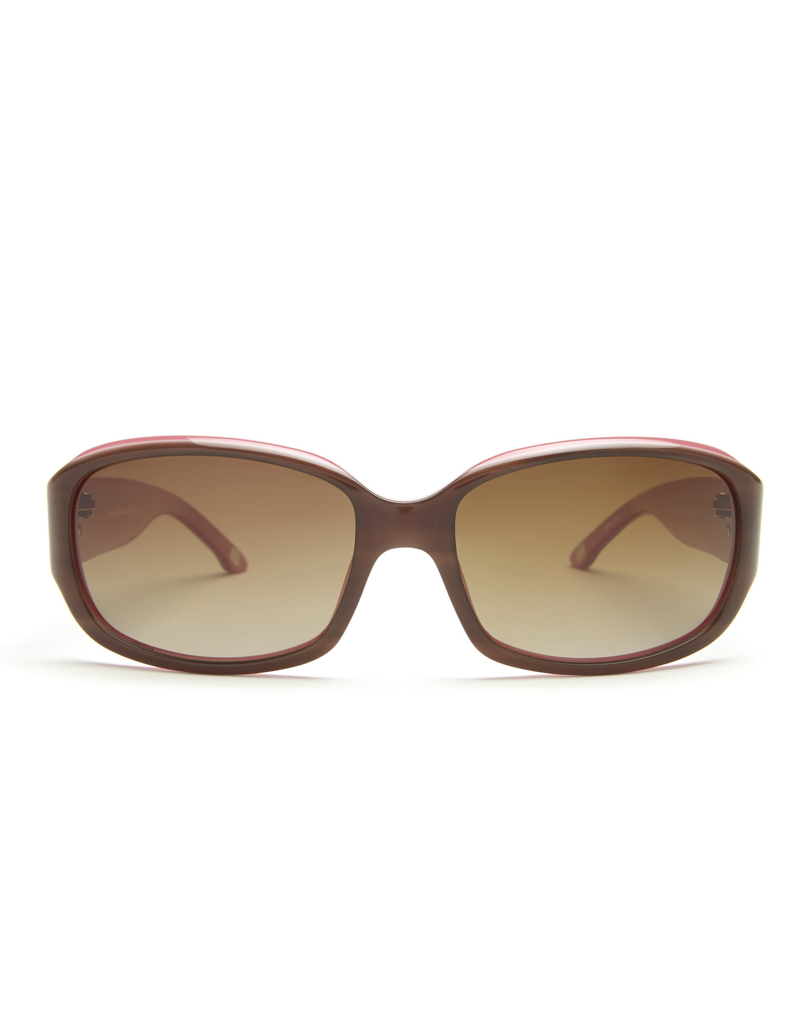 Tommy Bahama Polarized Sunglasses  tommy bahama tb7004 brown pink rectangle polarized sunglasses in