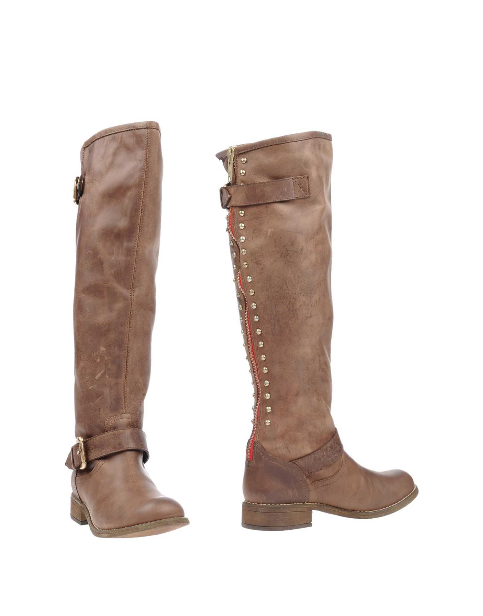 steve madden boots in brown lyst