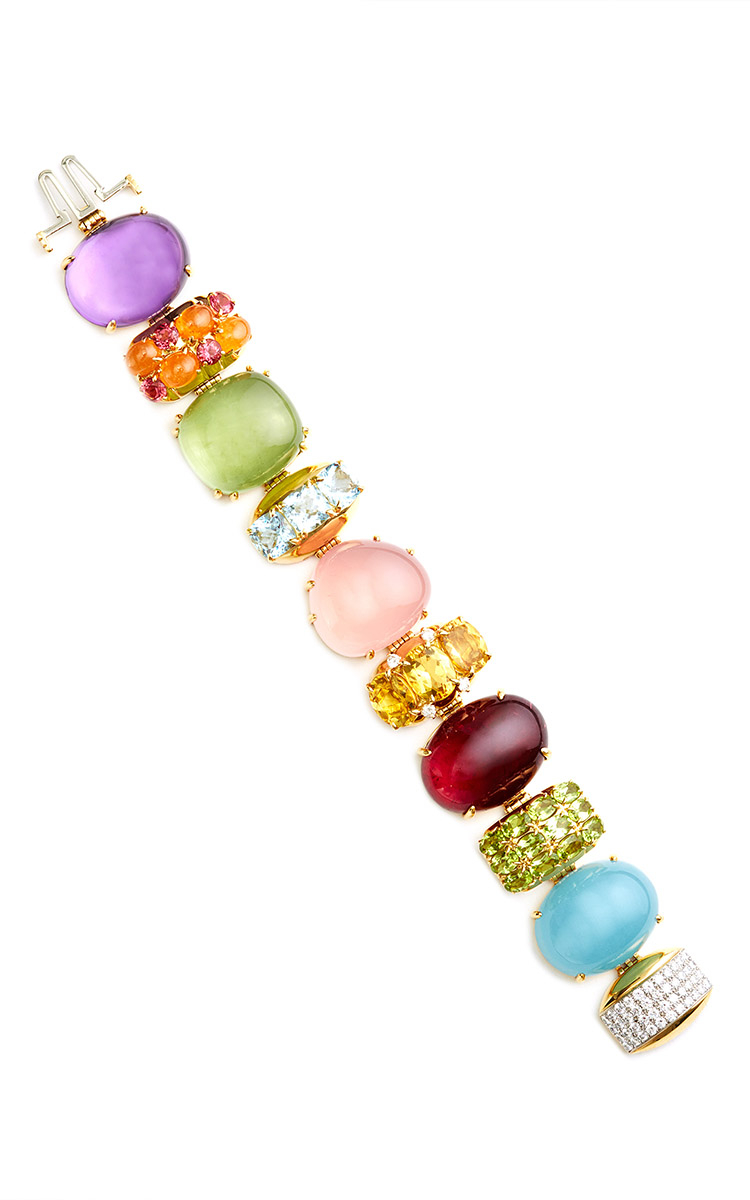 beaded free colors various shipping stone bracelet agate bracelets natural worldwide colored products product and clear image